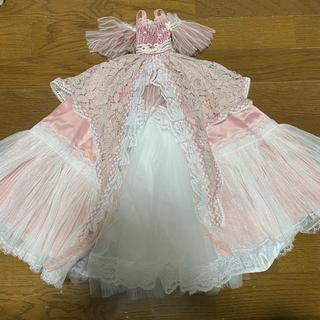 60cmドール  アウトフィット  ピンクドレス(人形)