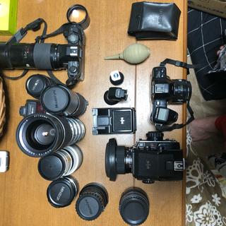 マミヤ(USTMamiya)のコニカ MINOLTA7700i 9000 マミヤ645(フィルムカメラ)