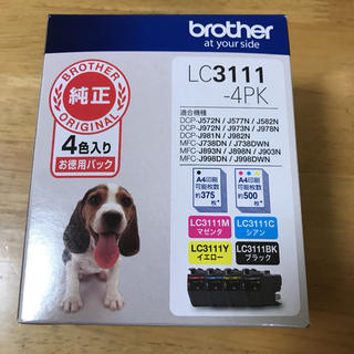 brother - ブラザー純正インク LC3111-4PK
