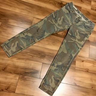 ダブルスタンダードクロージング(DOUBLE STANDARD CLOTHING)のダブルスタンダード ストレッチパンツ 38 迷彩柄 (カジュアルパンツ)