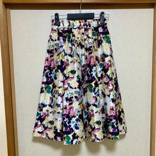 しまむら - しまむら 花柄スカート