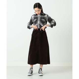 ビームス(BEAMS)のBEAMS BOY コーデュロイスカート ロングスカート(ロングスカート)