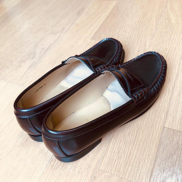 REGAL(リーガル)のREGAL リーガル ローファー 焦茶色 25センチ 美品 レディースの靴/シューズ(ローファー/革靴)の商品写真