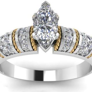 ダイヤモンドリング 10号 1ct(リング(指輪))