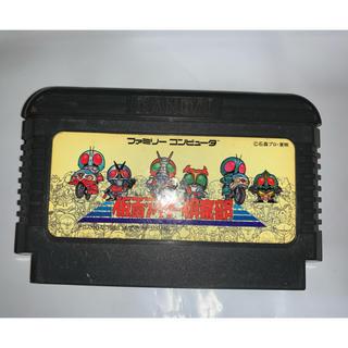 ファミリーコンピュータ(ファミリーコンピュータ)のファミコンソフト 仮面ライダー倶楽部(家庭用ゲームソフト)