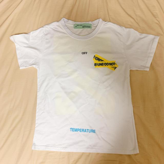 OFF-WHITE(オフホワイト)のoff-white Tシャツ Mサイズ メンズのトップス(Tシャツ/カットソー(半袖/袖なし))の商品写真