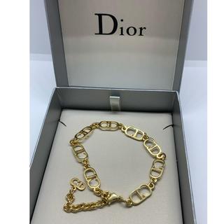 クリスチャンディオール(Christian Dior)の【未使用 】クリスチャン ディオール CDロゴブレスレット/ゴルード/R88(ブレスレット/バングル)