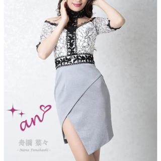 アン(an)のan チョーカー風高級ドレス 今月限定価格!(ミニドレス)