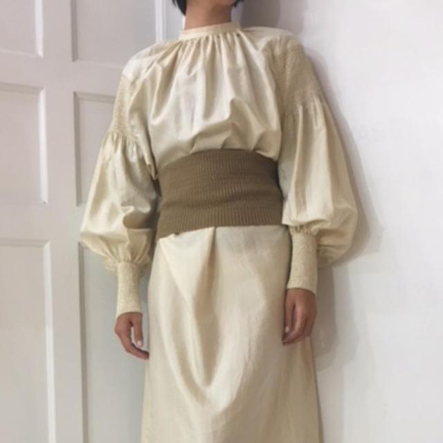 jonnlynx(ジョンリンクス)の今晩のみ値下げ fumika uchida カシミア ベリーバンド レディースのファッション小物(その他)の商品写真