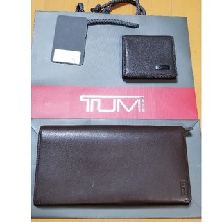 トゥミ(TUMI)のTUMI長財布とコインケースのセット本物(長財布)