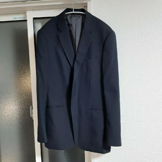 ORIHICA(オリヒカ)のオリヒカ メンズスーツ 黒 2パンツ メンズのスーツ(スーツジャケット)の商品写真