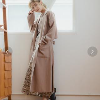 ★週末SALE★ミスティウーマン ボリュームガウンコート 新品未使用