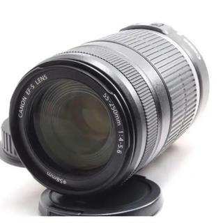 Canon - ✨手振れ補正 お手軽 望遠レンズ Canon EF-S 55-250mm IS✨