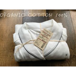 MUJI (無印良品) - 無印 新品未使用 完売 白 スムース M 縫い目のないパジャマ ホワイト