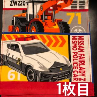 タカラトミー(Takara Tomy)のタオル2枚セット プラレール&トミカ フェイスタオルセット 2枚 セット(タオル/バス用品)