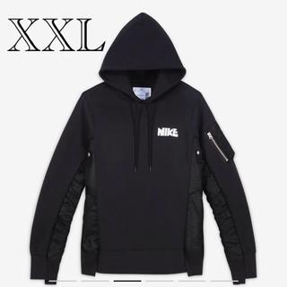 サカイ(sacai)のXXL サイズ sacai Nike Hoodie フーディー パーカー (パーカー)