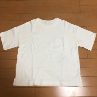 GU - ジーユー  ヘビーウェイトT Mサイズ ホワイト