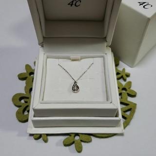 4℃ - 4℃ K10 ダイヤモンド & タンザナイト ネックレス
