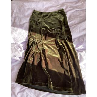 Adam et Rope' - TABASA スカート 深緑