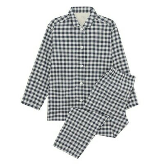 MUJI (無印良品)(ムジルシリョウヒン)の新品 無印良品脇に縫い目のない二重ガーゼパジャマ レディースのルームウェア/パジャマ(パジャマ)の商品写真