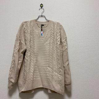 しまむら - 新品 HK WORKS LONDON ニット セーター
