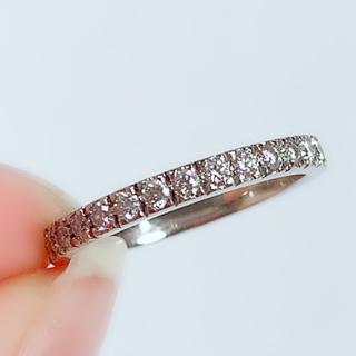 Tiffany & Co. - ティファニー リング ノヴォ 指輪 ハーフサークル ダイヤモンド PT950