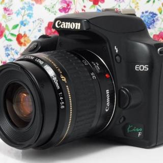 Canon - ★カメラデビューにおすすめ★Canon kiss F レンズセット