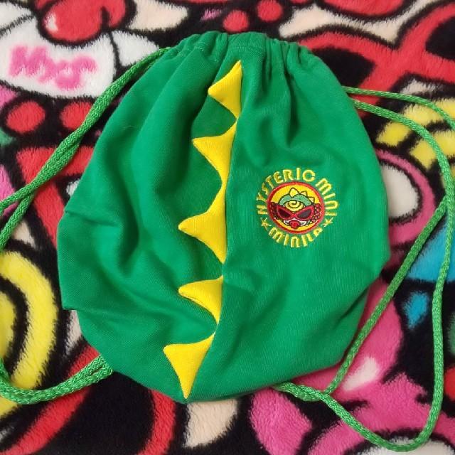 HYSTERIC MINI(ヒステリックミニ)のミニラ リュック 巾着 キッズ/ベビー/マタニティのこども用バッグ(体操着入れ)の商品写真
