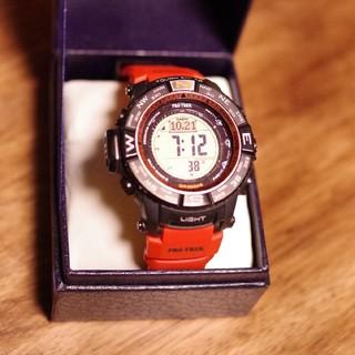 カシオ(CASIO)のCASIO PROTREK PRW-3500Y(腕時計(デジタル))
