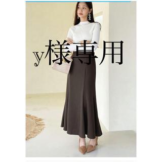 dholic - マーメイドスカート ロングスカート ブラック 韓国 dholic 新品未使用