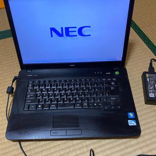 エヌイーシー(NEC)のNEC VersaPro VJ23ER-C ノートパソコン ② 限界値下げ(ノートPC)