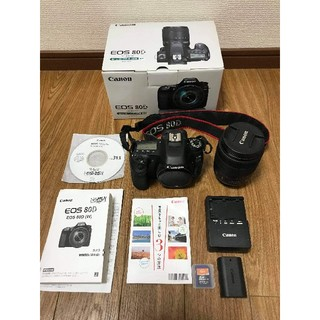 Canon - you様専用 「超美品」キャノン Canon EOS 80Dレンズセット