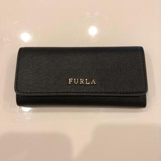フルラ(Furla)のFURLA キーケース ブラック 美品 付属品無し(その他)