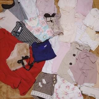 リズリサ(LIZ LISA)の25着まとめ売り♡ブランドたっぷり姫系フェミニン(セット/コーデ)