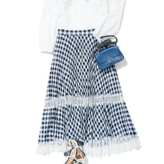 Chesty - 大変美品★チェスティ★チェックプリーツスカート★サイズ1