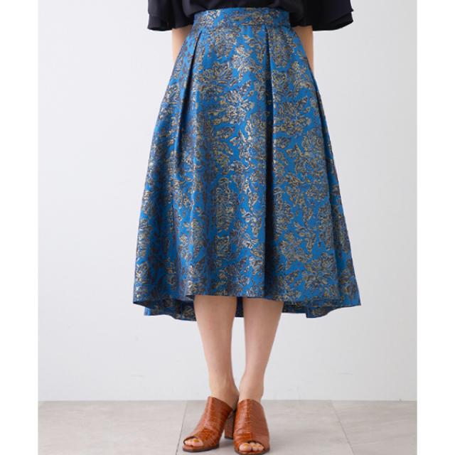 STUDIOUS(ステュディオス)のUNITED TOKYO フクレフラワースカート  レディースのスカート(ひざ丈スカート)の商品写真