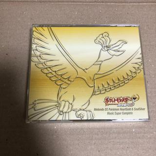 ポケモン(ポケモン)のポケットモンスター ハートゴールド ソウルシルバー サウンドトラックCD DS(ゲーム音楽)