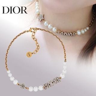 """Dior - ディオール*""""J'ADIOR""""レジンビーズ&クリスタル チョーカー"""