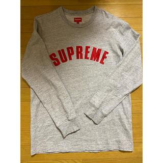 シュプリーム(Supreme)の16ss Supreme Arc Logo L/S Top L GREY(Tシャツ/カットソー(七分/長袖))
