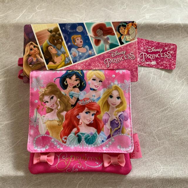 Disney(ディズニー)のディズニー プリンセス 移動ポケット マルチポケット ショルダー付 キッズ/ベビー/マタニティのこども用バッグ(ポシェット)の商品写真