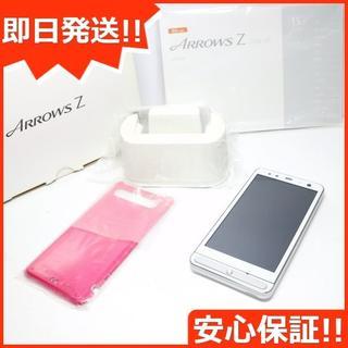 フジツウ(富士通)の新品同様 au ISW11F ファインホワイト 白ロム(スマートフォン本体)