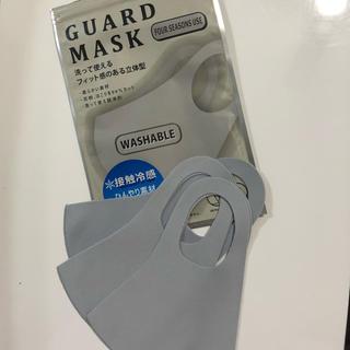 UNIQLO - マスク・3枚セット・メイク・化粧崩れ・花粉・乾燥・冷感・肌荒れ・韓国・海外