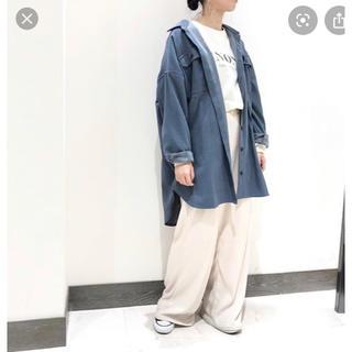 niko and... - オーバーCPOジャケット くすみブルー お値下げ不可