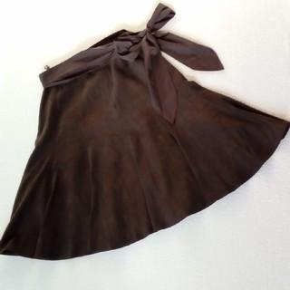 ミッシェルクラン(MICHEL KLEIN)のフレアスカート(ひざ丈スカート)