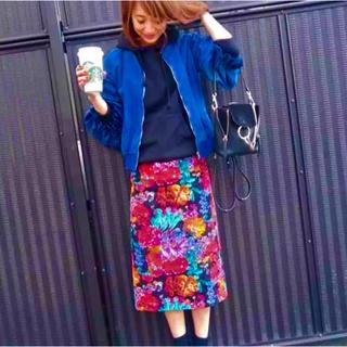 Drawer - BLAMINK  ブラミンク ドゥロワー 花柄  フラワー スカート 【美品】
