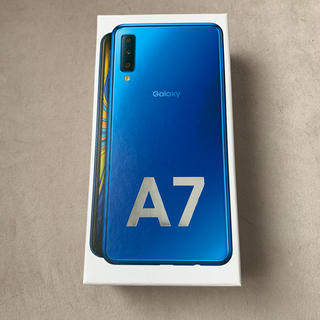 Galaxy - 未開封新品 Galaxy A7 ブルー 楽天モバイル対応 simフリー