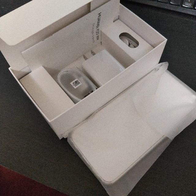 ANDROID(アンドロイド)の美品 HUAWEI P20 lite ブラック おまけ付き スマホ/家電/カメラのスマートフォン/携帯電話(スマートフォン本体)の商品写真