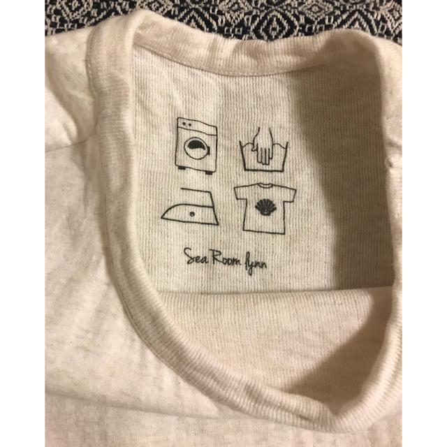 SeaRoomlynn(シールームリン)のシールームリン コットン2FACE LOOSE Tシャツ レディースのトップス(Tシャツ(半袖/袖なし))の商品写真