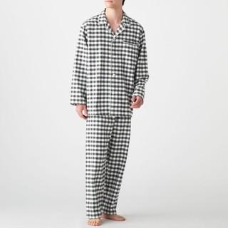 ムジルシリョウヒン(MUJI (無印良品))の脇に縫い目のない フランネルパジャマ メンズXL(その他)