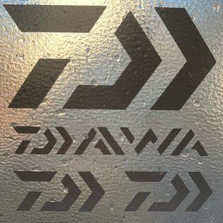 ダイワ(DAIWA)のダイワ カッティングステッカー シルバー 超防水 4枚セット(その他)